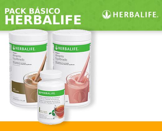 Pack Basico mensual Herbalife