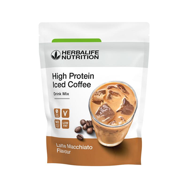 alta proteina herbalife cafe helado