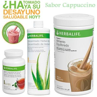 comprar Desayuno Saludable Herbalife cappuccino